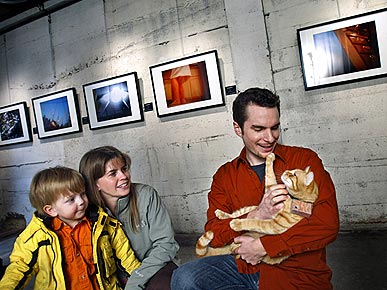 World's First Catarazzi? Feline Photographer Has Exhibition