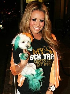 Aubrey O'Day: Why I Dye My Dog's Hair