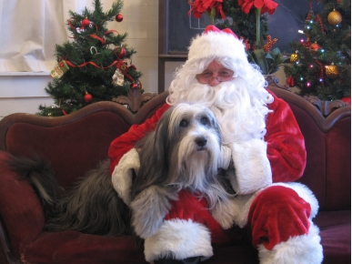 Ho, Ho, Ho! Show Us Your Holiday Pets Posing with Santa