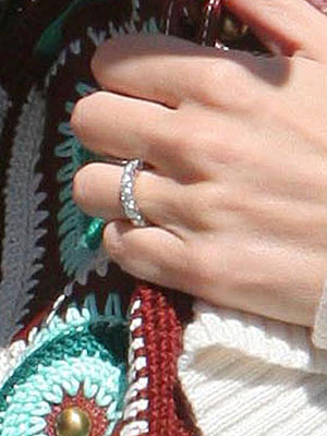 Eternity Band As Engagement Ring Post Yours