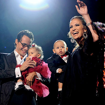 What did Jennifer Lopez say her daughter Emme inherited from her? | Jennifer Lopez, Marc Anthony