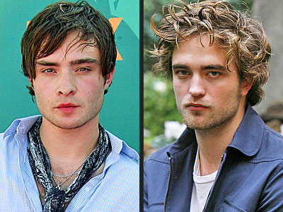Which one is a musician in his spare time? | Ed Westwick, Robert Pattinson