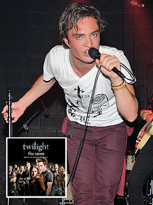 Which one is a musician in his spare time? | Ed Westwick