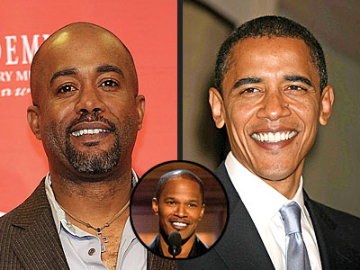 photo | Darius Rucker, Jamie Foxx