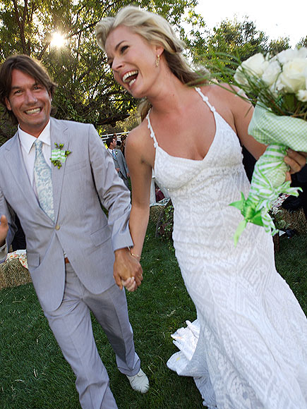 REBECCA & JERRY, 2 YEARS  photo | Rebecca Romijn