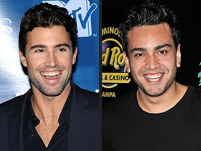 THE BROMANTIC BROS photo | Brody Jenner, Frankie Delgado