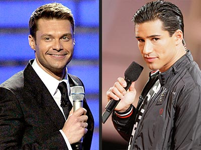 THE HOT HOSTS photo | Mario Lopez, Ryan Seacrest
