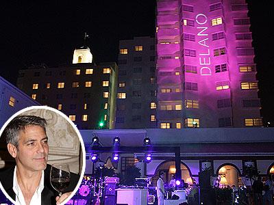 DELANO HOTEL photo | George Clooney