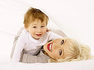 Christina Aguilera on Life As a Mom
