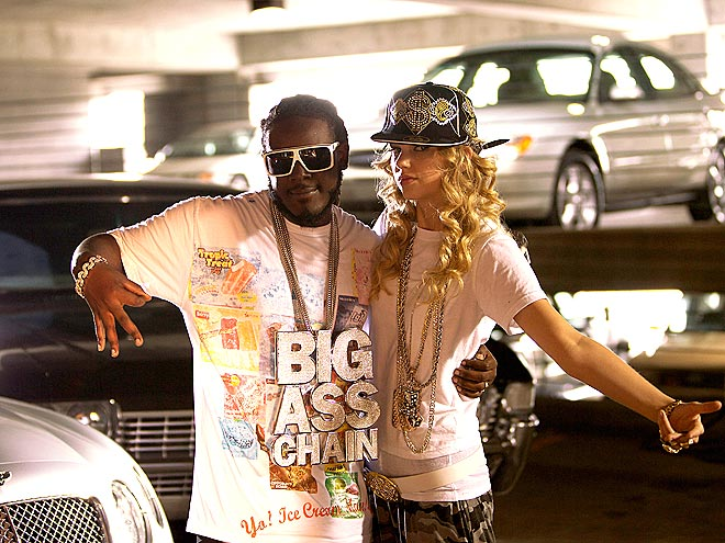 HOLLA BACK, T-SWIZZLE photo | T-Pain, Taylor Swift