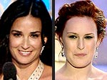 Oh No They Didn&#39;t! 2009&#39;s Craziest Globes Quotes | Demi Moore, Rumer Willis
