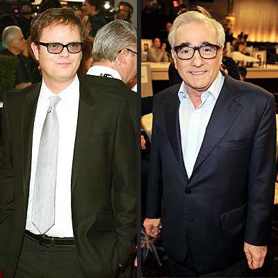  photo | Martin Scorsese, Rainn Wilson