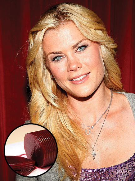 ALISON SWEENEY YUCK: CRANBERRY SAUCE photo | Alison Sweeney