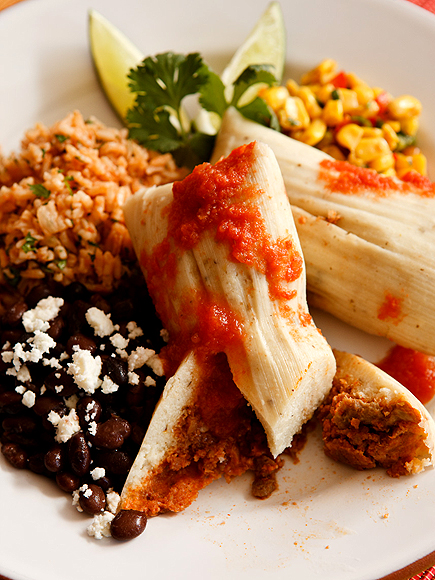 Mario Lopez's Chili Pork Tamales photo | Mario Lopez