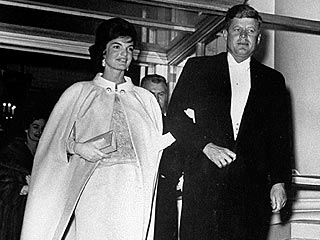50 Years of Inaugural Gowns | Jacqueline Kennedy Onassis, John F. Kennedy Jr.