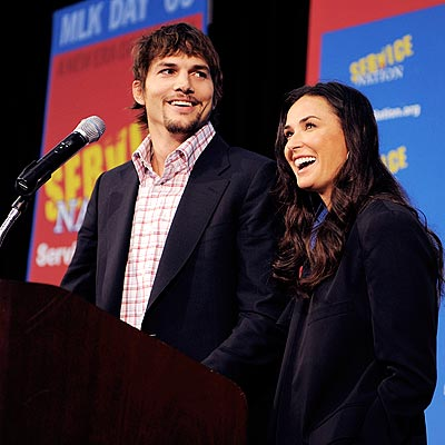 CALL TO SERVICE photo | Ashton Kutcher, Demi Moore