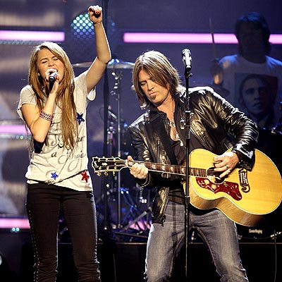 FAMILY AFFAIR photo | Billy Ray Cyrus, Miley Cyrus