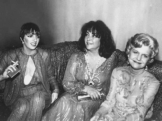 WEIGHTY MATTERS photo | Betty Ford, Elizabeth Taylor, Liza Minnelli