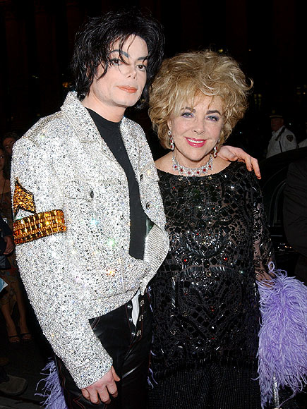 STRANGE BEDFELLOWS photo | Elizabeth Taylor, Michael Jackson