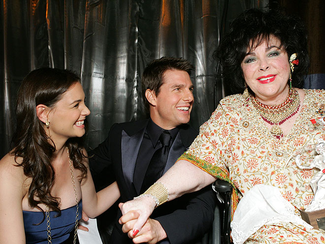 GRANDE DAME photo | Elizabeth Taylor, Katie Holmes, Tom Cruise
