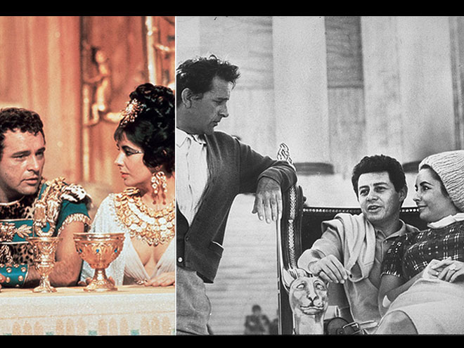 ROMANTIC TRIANGLE photo | Eddie Fisher, Elizabeth Taylor, Richard Burton