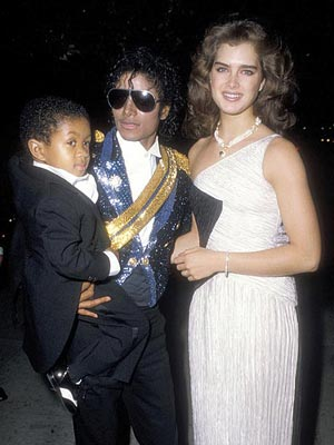 BROOKE SHIELDS photo | Michael Jackson