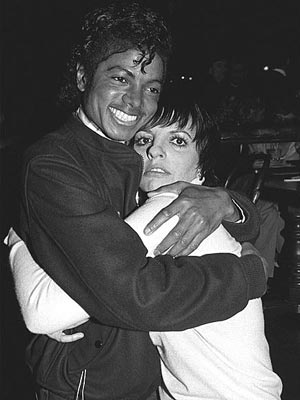 LIZA MINNELLI photo | Michael Jackson