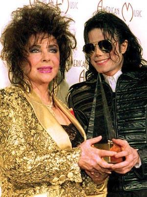 ELIZABETH TAYLOR photo | Elizabeth Taylor, Michael Jackson