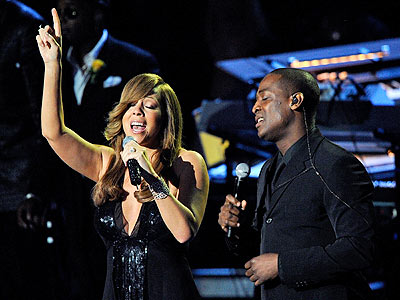 DUET PARNERS  photo | Mariah Carey, Trey Lorenz