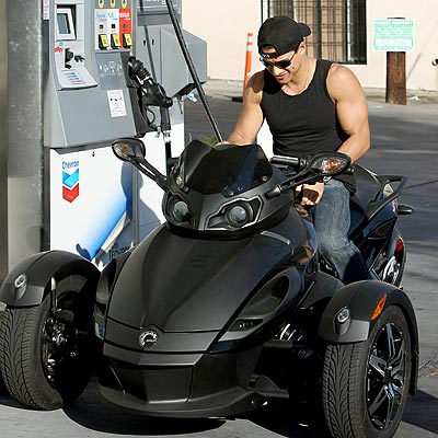 PUMPING GAS photo | Mario Lopez