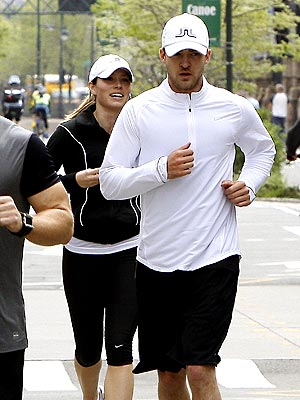 GOING FOR A RUN photo | Jessica Biel, Justin Timberlake