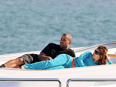 YACHTING photo | Eva Longoria, Tony Parker