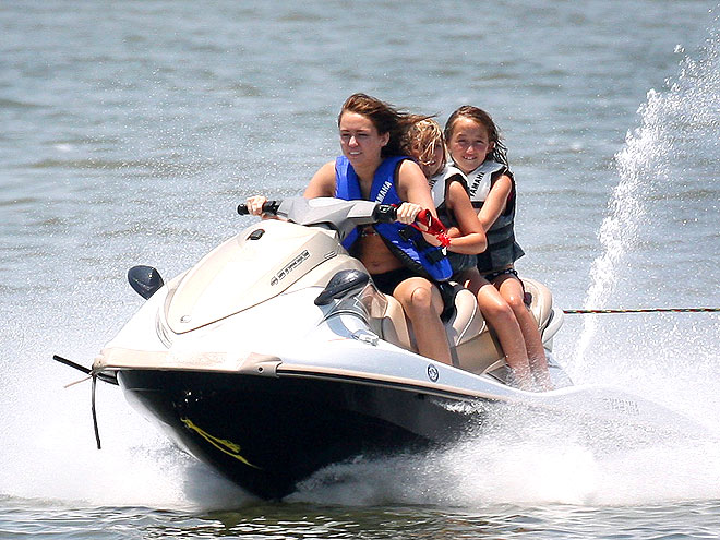 JET SKIING photo | Miley Cyrus