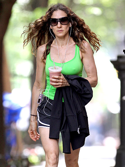 EXERCISING photo | Sarah Jessica Parker