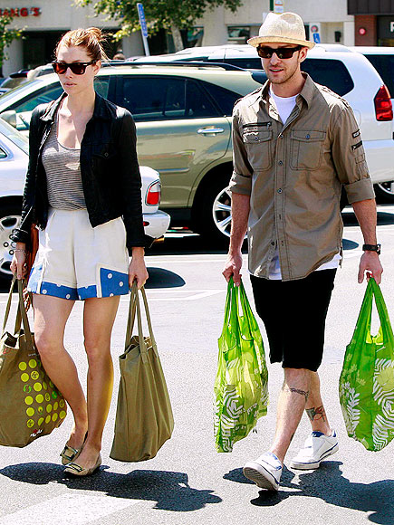 Off duty hollywood jessica biel justin timberlake peoplecom for Justin timberlake tattoos removed