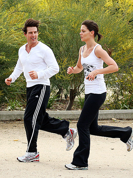 JOGGING photo | Katie Holmes, Tom Cruise