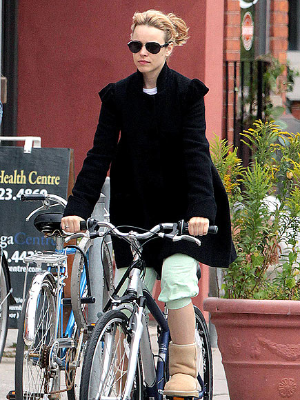 BIKING photo | Rachel McAdams