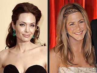 Angelina Jolie, Jennifer Aniston Share Oscar Spotlight