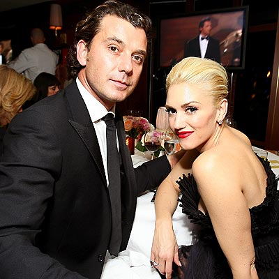 TABLE FOR TWO photo | Gavin Rossdale, Gwen Stefani