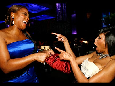 POINT AND CLICK photo | Queen Latifah, Taraji P. Henson
