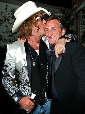 BROTHER IN ARMS photo | Mickey Rourke, Sean Penn