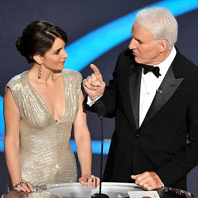  photo | Steve Martin, Tina Fey