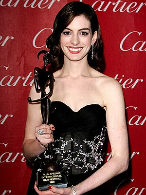 SHINY, HAPPY PERSON photo | Anne Hathaway