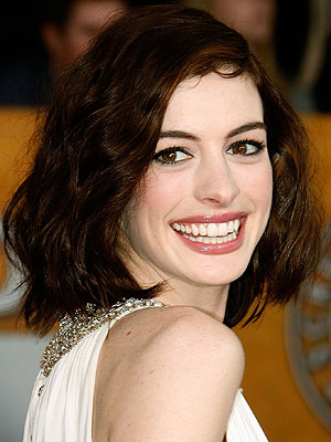 Anne Hathaway Makeup. ANNE HATHAWAY photo | Anne