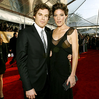 MICHAEL C. HALL & JENNIFER CARPENTER photo | Jennifer Carpenter, Michael C. Hall