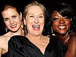 Party Shots! The Stars Let Loose | Amy Adams, Meryl Streep, Viola Davis