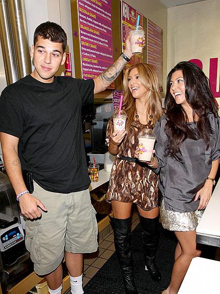 MILKING IT  photo | Kim Kardashian, Kourtney Kardashian