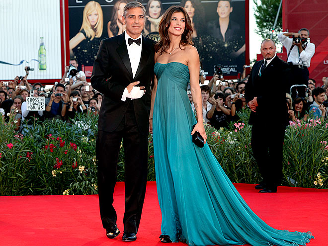 A VENETIAN DEBUT photo | Elisabetta Canalis, George Clooney