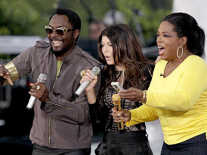 Oprah, Fergie, and The Black Eyed Peas