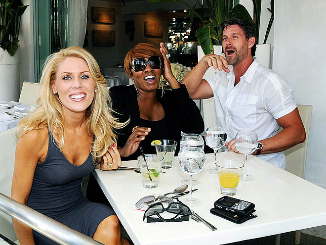 LUNCH DATE photo | Gretchen Rossi, NeNe Leakes, Slade Smiley